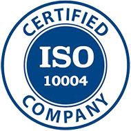 گواهینامه ISO10004